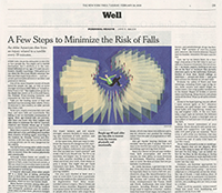 New York Times recommends Carol Clements Book Better Balance for Life