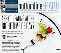 article about balance exercises by Carol Clements in Bottomline Health magazine